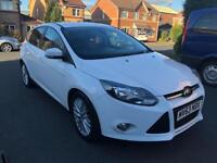 2013 FORD FOCUS ZETEC 1.6 DIESEL +LOW MILEAGE+LADY OWNER+FULL FORD DEALERSHIP HISTORY
