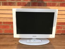 Samsung White HD ready 22 inch Television