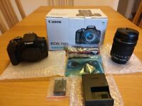 Brand New Canon EOS750D Camera with 18-135mm Lens. Still in packaging, never been used.
