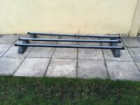 Vauxhall Vivaro Roof Bars, set of 3 comes with all bolts, £40