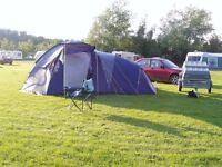 4 berth family dome tent used