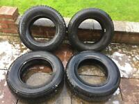 All Terrain 4x4 Tyres Off Road 195/80/R15 Michelin Synchrone Bridgestone Dueler