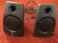 Logitech Computer Stereo Speakers AS NEW
