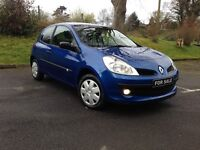 2009 Renault Clio EXTREME 1.2 MOT,D TILL FEBRUARY 2018