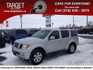 2006 Nissan Pathfinder LE NO ACCIDENTS FULLY LOADED LEATHER/DVD