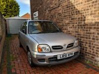 LOW MILEAGE - Nissan Micra for sale - GREAT FIRST CAR with £120 stereo included.
