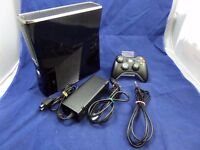 Xbox 360 with 1 controller and call of duty ghosts GTA 5 battlefield