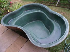 Pre formed garden pond for sale/ Atlantis Hawaii with pump & filter.