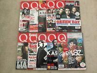 Q music magazines x11. Last 11 copies. Exc condition.