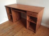 IKEA Matteus solid wood computer office desk