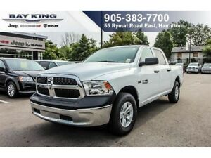 2017 Ram 1500 SXT CREW CAB 4X4, HEMI, PWR WINDOWS, A/C