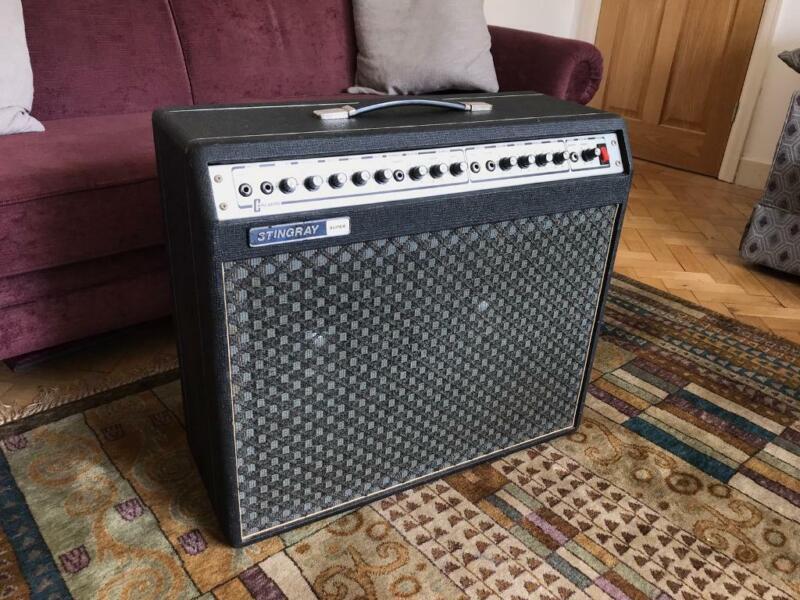 Carlsbro Stingray Super Vintage Guitar Amp, used for sale  Roath, Wales