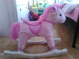 Brand New Unicorn Rocking Horse