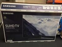 """Samsung 55"""" CURVED 9 SERIES 4k SUHD smart led tv ue55ks9000"""