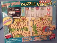 puzzle train set