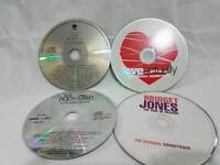 4 Soundtrack CDs Bridget Jones Love Actually The Bodyguard Four Weddings