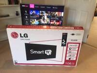 "LG 42"" SMART LED TV, FULLY BOXED WITH RECEIPT, DELIVERY"