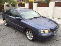 VOLVO S60 TS 2L AUTO **MOT 18/06/18** FSH, CAMBELT ON 92K, 2 KEYS , H/LEATHER, ALLOY,C/LOCK, £995