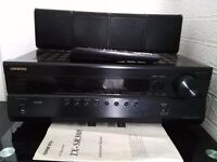 Onkyo amp (hdmi) with pioneer subwoofer