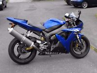 2004 Yamaha YZF 1000 R1 Low miles PX and Delivery possible
