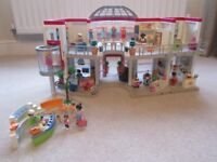 Playmobil Shopping Mall (5485) with extension and extra sets
