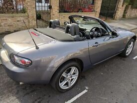 MAZDA MX5 1.8 CONVERTIBLE 2006 BLACK LEATHER INTERIOR 55k MILES