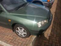 HYUNDIA ELANTRA FULL SERVICE HISTROY 1 YEAR MOT CLEAN INSIDE NO PROBLEMS PERFECT RUNNER