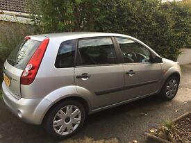 Silver 2006 Ford Fiesta low mileage