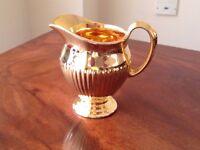 Royal Winton Ribbed Milk Jug Golden Age Grimwades in excellent condition