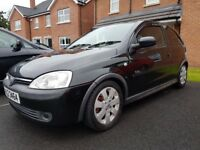 Vauxhall corsa c sri full years mot
