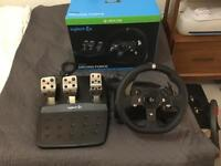 Logitech Driving Force Racing Wheel for Xbox One and PC