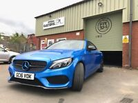 CAR WRAPPING, WINDOW TINTING, LIGHT TINTING, ALLOY REFURBISHMENT, CALLIPER RESPRAY