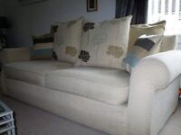 Immaculate, quality Reid's sofas. One four seater and two three seaters. Can be sold seperately.