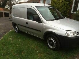 Vauxhall combo 1700 cdti manual , star silver
