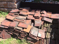 1500+ Roofing Tiles. Leighwood Tiles. Reclaimed red clay rosemery roof tiles