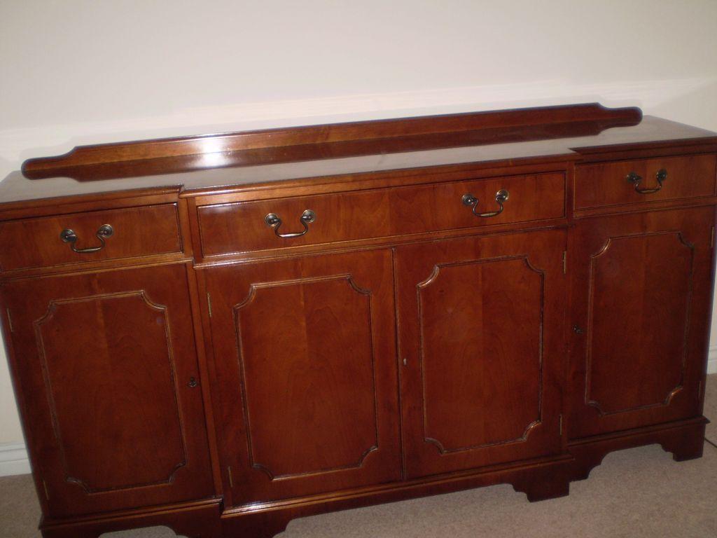 Large MultiYork mahogany veneer sideboard | in Kesgrave, Suffolk ...