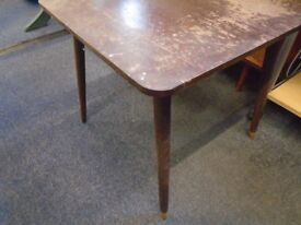 small vintage occasional table.