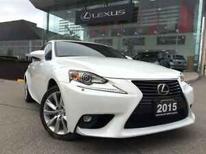 2015 Lexus IS 250 1 Owner AWD Lthr Btooth