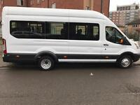 16 Seater Minibus Hire with Driver. COMPETITIVE PRICING