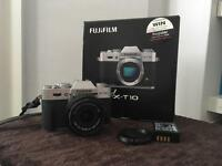 Fujifilm X-T10 w 18mm lens + extra battery