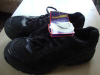 Trojan Non Metallic Trainer Safety Shoe Black UK Size 7&8