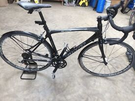 Raw Carbon Fibre Giant Road Bike - Medium VGC