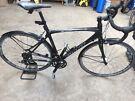 Raw Carbon Fibre Giant Road Bike - Medium VGC