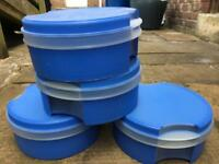 Tupperware storage containers