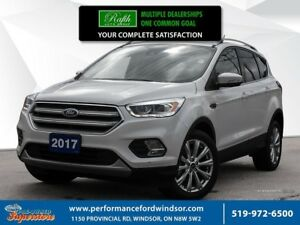 2017 Ford Escape ***Low km's loaded recent arrival with 2.0 L ec