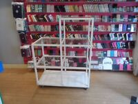 PROFESSIONAL CUBE 7 SHELF SHOP DISPLAY UNIT more stock and price drop!!!!!ALSO ADVERTISED ELSEWHERE.