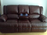 3 Seater Leathr Sofa