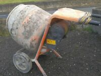 Concrete Mixer 230v Electric Belle Minimix 150