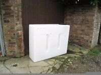 400 LITRE BAFFLED WATER TANK **IDEAL WINDOW CLEANING / CAR VALETING**