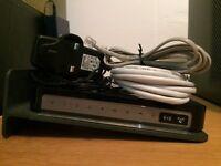 Netgear N300 DGN2200v4 modem router